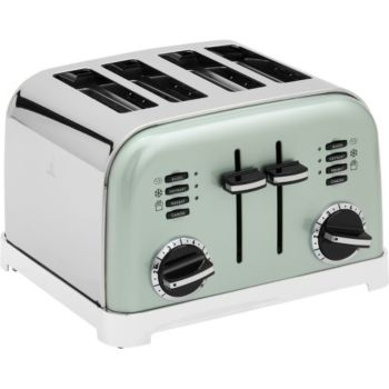 Cuisinart CPT180GE Toaster 4 tranches Pistache