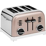 Grille-pain Cuisinart  CPT180PIE TOASTER 4 TRANCHES ROSE