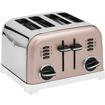 Cuisinart CPT180PIE TOASTER 4 TRANCHES ROSE