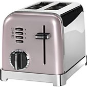 Grille-pain Cuisinart CPT160PIE 2 tranches Vintage Rose