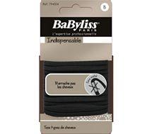 Elastique cheveux Babyliss Elastiques 4mm noir