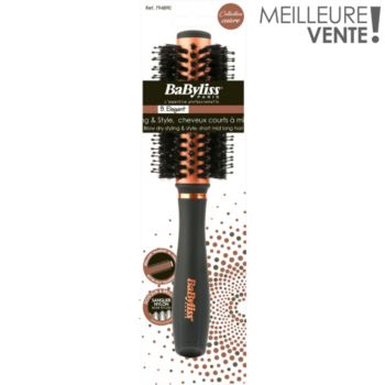 Babyliss Brosse brushing mixte cuivre