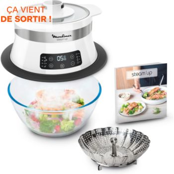 Moulinex Steam Up VJ504010 Cuiseur vapeur | Boulanger
