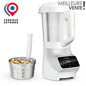 Blender chauffant Moulinex SOUP & PLUS LM926B00 BLANC 2L