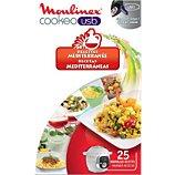 Livre de cuisine Moulinex  COOKEO 25 recettes méditérrannée