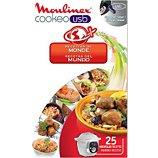 Livre de cuisine Moulinex  COOKEO 25 recettes du monde