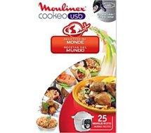 Clé USB Moulinex COOKEO 25 recettes du monde