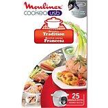 Livre de cuisine Moulinex  COOKEO 25 recettes tradition