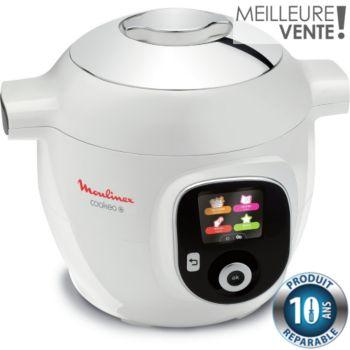 Moulinex Cookeo + Blanc 150 recettes CE851100