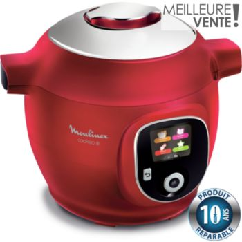 Moulinex Cookeo + Rouge 150 recettes CE851500