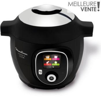Moulinex Cookeo + Connect 200 recettes CE857800