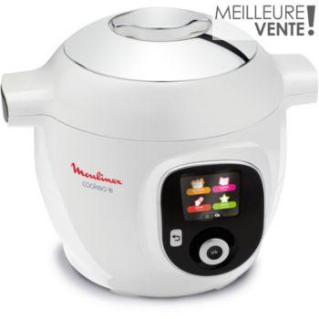 Moulinex Cookeo + Blanc 150 recettes CE851110