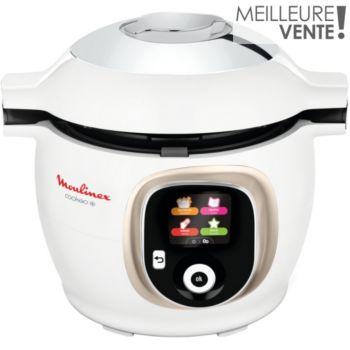 Moulinex Cookeo+ Blanc Doré CE851A10