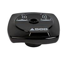 Bouton de serrage SEB noir 790071 bouton de serrage