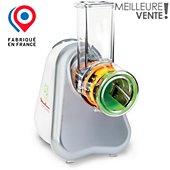 Rapeur trancheur Moulinex DJ753E10 FRESH EXPRESS ARGENT 3 CONES