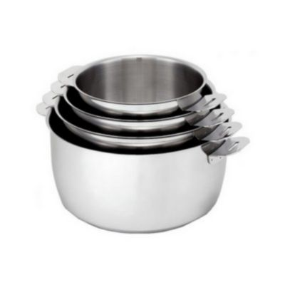 Batterie de cuisine happy achat boulanger for Batterie en inox