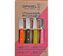 Coffret couteau Opinel  Les Essentiels Fifties 4 couteaux