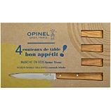 Coffret couteau Opinel  de table SUD en Olivier x4