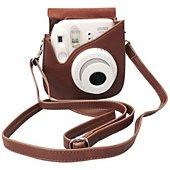 Etui Fujifilm Instax mini luxe Marron