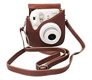 Fuji Instax mini luxe Marron
