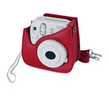 Etui Fujifilm  Instax mini luxe Rouge Carded