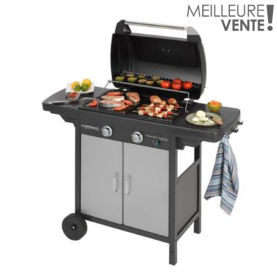 Barbecue gaz vos achats sur boulanger for Housse barbecue camping gaz
