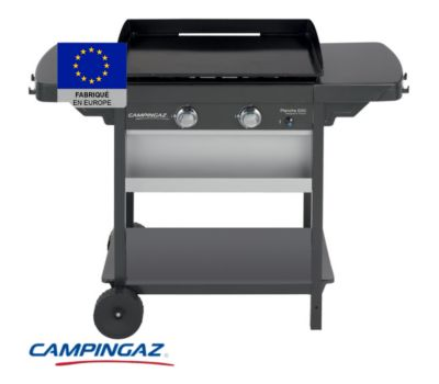 Plancha gaz Campingaz sur chariot EXB 2