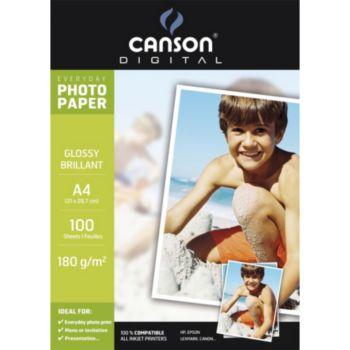 Canson 100FL Everyday A4 180g Photo Brillant