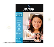 Papier photo Canson BTE 50FL A3 210G PHOT BRILLANT