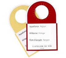 Etiquette L'atelier Du Vin  40 Etiquettes- témoins