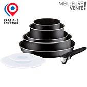 Batterie de cuisine Tefal Ingenio Essential noir 8 pcs L2009902