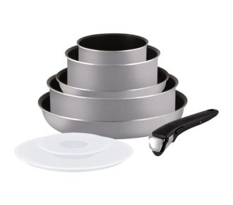 Tefal Ingenio Essential gris scottish 8 pièces