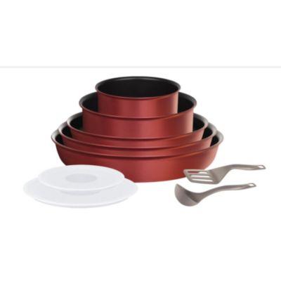 Batterie de cuisine Tefal Ingenio Performance Rouge 10 pièces