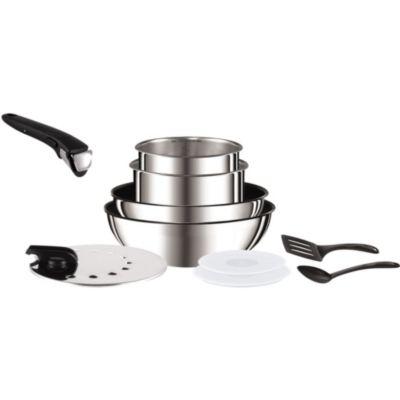 Batterie de cuisine tefal chez boulanger for Tefal batterie de cuisine