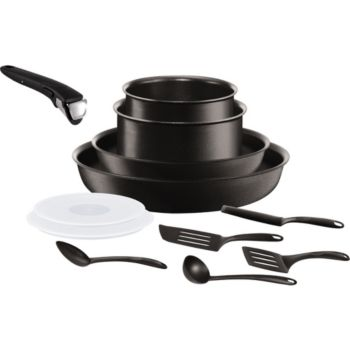 Tefal ingenio performance noir 12p induction batterie de - Batterie cuisine tefal ingenio induction ...