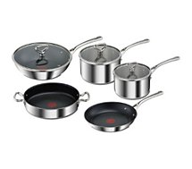 Batterie de cuisine Tefal Reserve collection inox 5 pcs