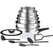 Batterie de cuisine Tefal Ingenio Emotion 15 pcs L925SF14