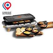 Raclette Tefal 8p grill plancha 3 en 1 RE610D12