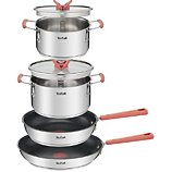 Batterie de cuisine Tefal  Optispace 6 pieces G720S604