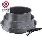 Batterie de cuisine Tefal 4 pièces Ingenio Mineralia Force