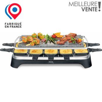 tefal pierrade inox design pr457812 raclette fondue boulanger. Black Bedroom Furniture Sets. Home Design Ideas