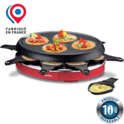 Raclette fondue happy achat boulanger - Raclette tefal 10 personnes ...