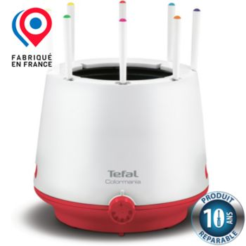 Tefal Fondue Colormania rouge EF260512