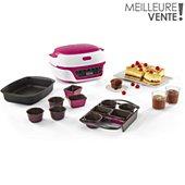 Machine à gâteaux Tefal Cake Factory Délices KD810112