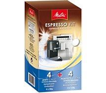 Produit de Nettoyage Melitta  Espresso Kit 2 détartrants + 1 nettoyant