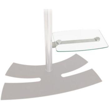 erard tablette pied lux up 038400 support tv boulanger. Black Bedroom Furniture Sets. Home Design Ideas