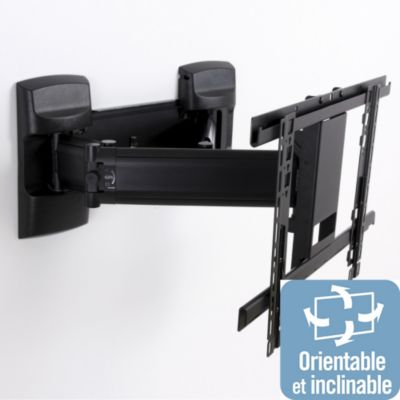 Support tv erard boulanger - Support tv mural motorise orientable inclinable ...