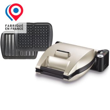 lagrange premium 019452 croque gaufre argent gaufrier croque monsieur boulanger. Black Bedroom Furniture Sets. Home Design Ideas