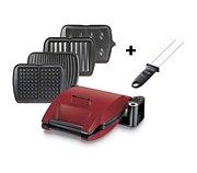 Lagrange Premium 4 plaques rouge mat + pic inclus