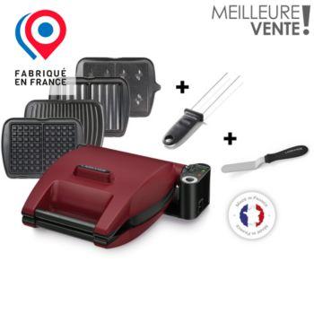 Lagrange Premium rouge 4 plaques - Pic et spatule
